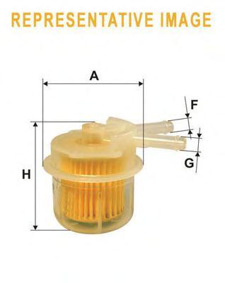 Фильтр топливный  арт. WF8149