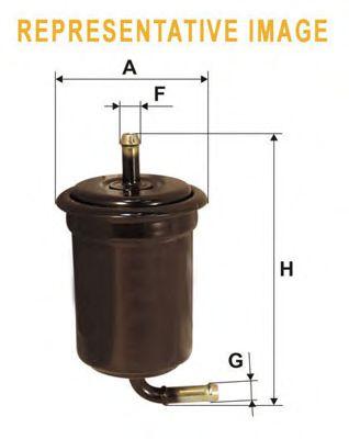 Фильтр топливный  арт. WF8202