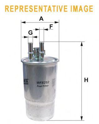 Фильтр топл. CITROEN; FORD; OPEL; PEUGEOT (пр-во WIX-Filtron)                                         арт. WF8408