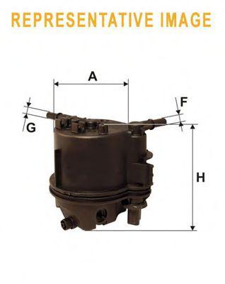 Фильтр топлива Renault 1.9 DCi 11/00- WIXFILTERS WF8322