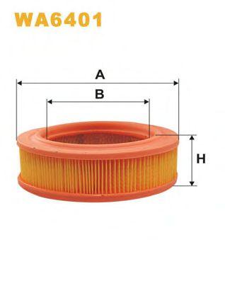 Фильтр воздушный WA6401/AR219 (пр-во WIX-Filtron)                                                     арт. WA6401