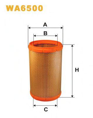 Фільтр повітря  арт. WA6500