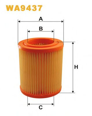 Фильтр воздушный (AR 246/2)  арт. WA9437