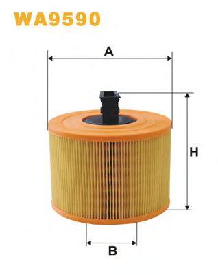 Фільтр повітря  арт. WA9590
