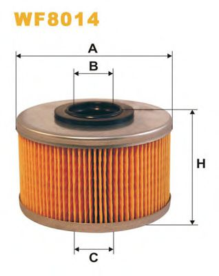 Фильтр топливный (PM 815/1)  арт. WF8014
