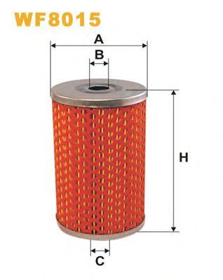 Фильтр топлива PEUGEOT Diesel -5/92 Bosch WIXFILTERS WF8015