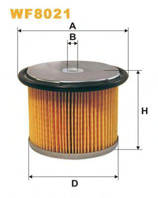 Фильтр топл. CITROEN WF8021/PM858 (пр-во WIX-Filtron)                                                 арт. WF8021