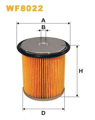 Фильтр топл. WF8022/PM858/1 (пр-во WIX-Filtron)                                                       арт. WF8022