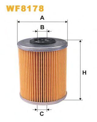 Фильтр топливный (PM 816/1)  арт. WF8178