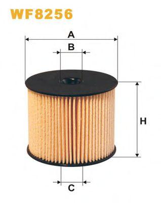 Фильтр топл. CITROEN WF8256/PE816/4 (пр-во WIX-Filtron)                                               арт. WF8256