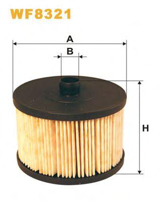 Фильтр топливный (PE 816/5)  арт. WF8321