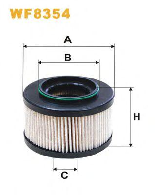 Фільтр палива  арт. WF8354