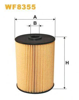 Топливный фильтр WIXFILTERS WF8355