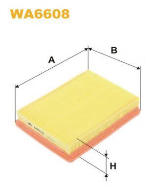 Фильтр воздушный  арт. WA6608