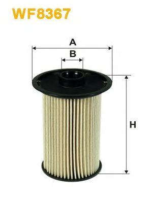 Фильтр топливный (PM 815/6)  арт. WF8367