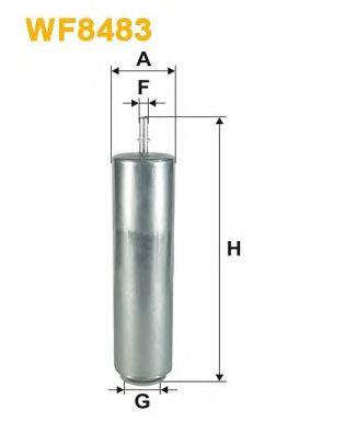 Фільтр паливний  арт. WF8483