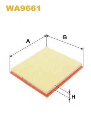 Фильтр воздушный (AP 030/2)  арт. WA9661