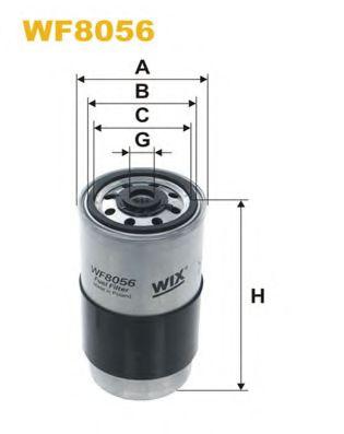 Фильтр топливный (PP 865)  арт. WF8069