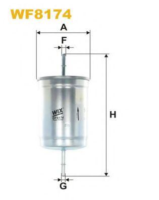 Фильтр топл. WF8174/PP866/1 (пр-во WIX-Filtron)                                                       арт. WF8174