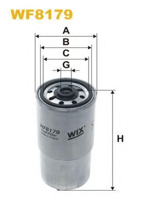Фильтр топл. PP954/WF8179 (пр-во WIX-Filtron)                                                         арт. WF8179