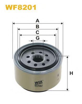 Фильтр топливный (PP 946/1)  арт. WF8201