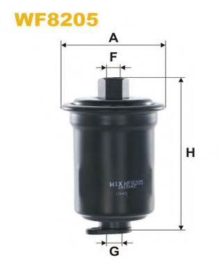 Фільтр палива  арт. WF8205