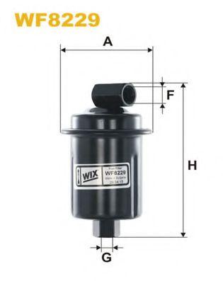 Фильтр топливный  арт. WF8229
