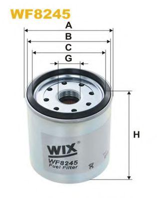 Фільтр палива  арт. WF8245