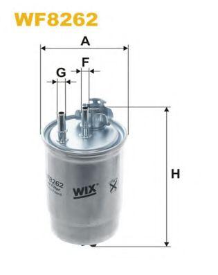 Фильтр топливный (PP 966)  арт. WF8262
