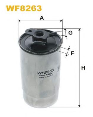 Фильтр топливный (PP 940/3)  арт. WF8263