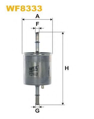 Фильтр топл. AVEO WF8333/PP905/3 (пр-во WIX-Filtron)                                                  арт. WF8333