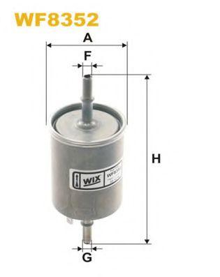Фильтр топливный  Lanos(PP 905/2)  арт. WF8352
