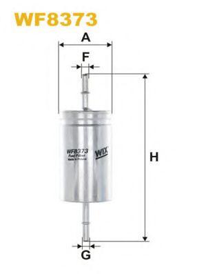 Фильтр топливный (PP 865/5)  арт. WF8373