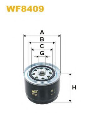 Фильтр топливный WIXFILTERS WF8409