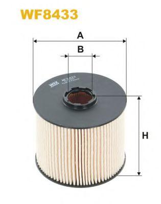 Фильтр топливный (PE 816/8)  арт. WF8433
