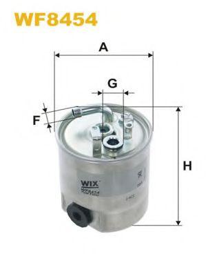Фільтр паливний  арт. WF8454