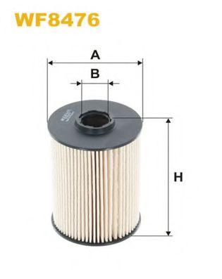 WF8393 Фильтр топливный (PE 981/2)  арт. WF8476