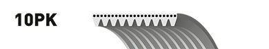 10PK1110ES (8542-20149)  Ремінь (поліклиновий) GATES MICRO-V XF ES GATES 10PK1110ES
