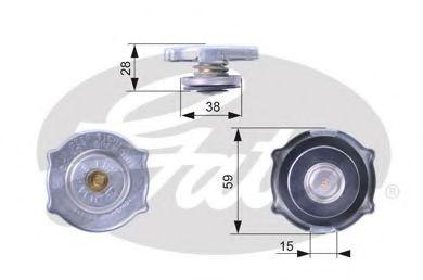 Крышка, радиатор  арт. RC135