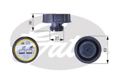 Крышка радиатора  арт. RC240