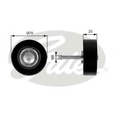Паразитный / ведущий ролик, поликлиновой ремен GATES T36263