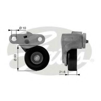 Натяжной ролик, поликлиновой  ремень GATES арт. T38159