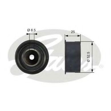 Паразитный / ведущий ролик, поликлиновой ремен GATES арт. T42076
