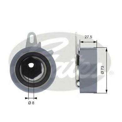 Фото - Ролик модуля натягувача ременя GATES - T43054