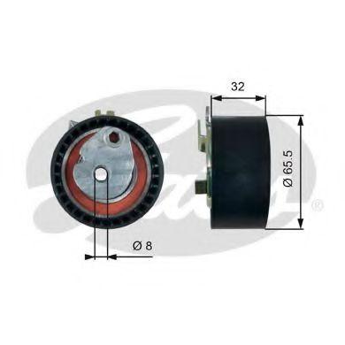 Ролик модуля натягувача ременя GATES арт. T43238