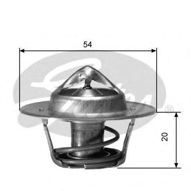Термостат, охлаждающая жидкость  арт. TH00191G6