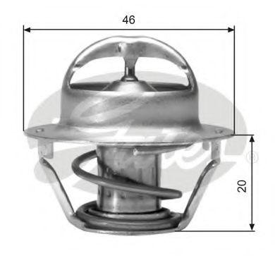 Термостат, охлаждающая жидкость  арт. TH03082G1