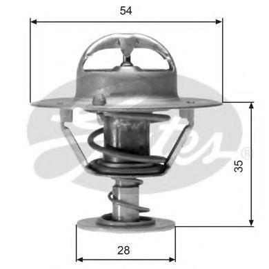 Термостат, охлаждающая жидкость  арт. TH04277