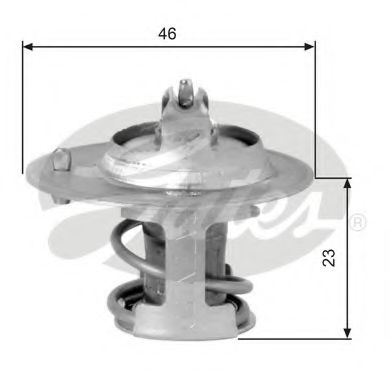 Термостат  арт. TH06691G1