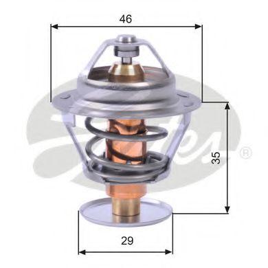 Термостат, охлаждающая жидкость  арт. TH10489G1